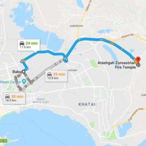 Airport transfer Baku 16