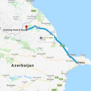 BAKU TO SHAHDAG TRANSFER