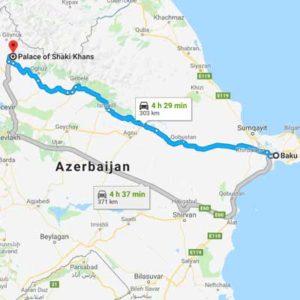 Airport transfer Baku 20